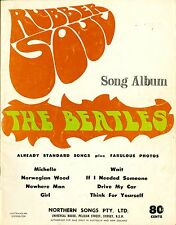 THE BEATLES - RUBBER SOUL - SHEET MUSIC SONGBOOK AUSTRALIA