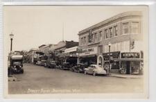 STREET SCENE, BREMERTON: Washington USA postcard with Coca-Cola truck (C31650)