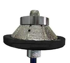 "3/8"" Granite Concrete stone Travertine Bevel Bullnose Router Bit Grinding wheel"