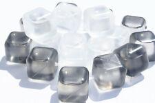 40x Eiswürfelformen Eiswürfel Dauereiswürfel Quadrat Cocktail wiederverwendbar