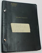 The Great Sebastians * 1956 Play Script Broadway New York Theater Howard Lindsay