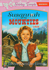 Susannah of the Mounties (1939) - Shirley Temple, Randolph Scott - DVD NEW