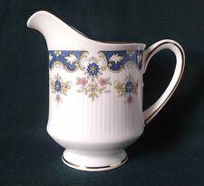 PARAGON CONISTON MILK JUG BONE CHINA TEA SET CREAMER BLUE PINK & YELLOW FLOWERS