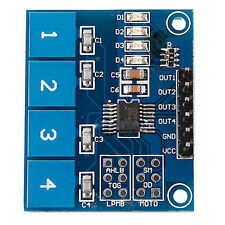 TTP224 4-way Capacitive Touch Switch Module Digital Touch Sensor For Arduino OY