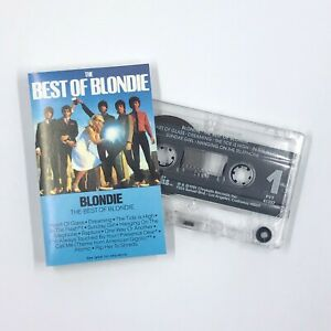 BLONDIE THE BEST OF Greatest Hits Cassette Tape 1981 New Wave Synth Pop Rare