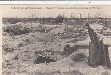 CPA GUERRE 14-18 WW1 MARNE LE BOIS SABOT régions des hurlus