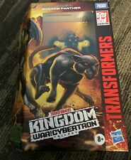 TRANSFORMERS KINGDOM WAR FOR CYBERTRON SHADOW PANTHER HASBRO 2021 SEALED
