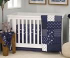 Serendipity Indigo Animal 4-pc Crib Bedding Set by NoJo