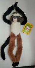 "K&M International Wild Republic Plush Hanging Wolf Guenon Animal 17"" Has Tag A17"