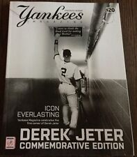 DEREK JETER FINAL NY HOMESTAND LIMITED EDITION COMMEMORATIVE YANKEES MAGAZINE