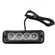 Car 4 LED Amber Car Dash Strobe Beacon Emergency Warning Light Flash 12 V Light