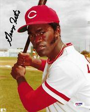 George Foster Cincinnati Reds Signed 8x10 Photo Autographed PSA/DNA COA