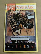 H3C Crochet Noah's Ark Leaflet Patterns Annie's Attic  great condition