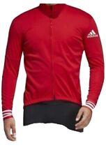 Adidas Adistar.oj.ls Jersey Men's Cycling Jersey Training Red CW7728 Sz