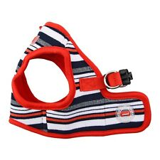 """Dog Puppy Harness Soft Vest - Puppia - Oceane - Red - Small 12-13"""" chest"""