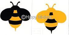 Bumble Bees bee vinyl car sticker window decal caravan camper van transfer