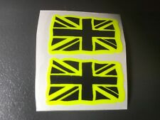 STICKER AUTOCOLLANT FLUORESCENT DRAPEAU ANGLAIS UNION JACK TRIUMPH SPEED TRIPLE
