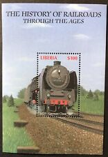 "LIBERIA TRAINS STAMPS 2002 MNH HISTORY OF RAILROADS GERMAN CLASS ""03"" LOCOMOTIVE"