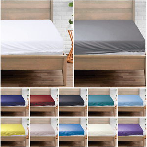 5* Extra Deep Fitted Sheet 500 Thread Count Luxury 100% EGYPTIAN Cotton All Size