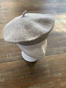 Gray Toddler girl's Beret Hat Cap Nwot New