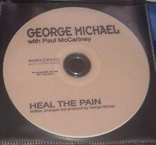 GEORGE MICHAEL WITH PAUL McCARTNEY PROMO - HEAL THE PAIN CD - WHAM/BEATLES????!