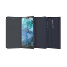 Genuine Nokia 7.1 Entertainment Flip Cover Case Blue Cp-270 6438409025364