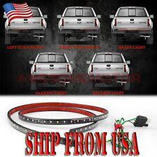 "USA 60"" Trunk Tail LED Strip Light Reverse Brake Turn Signal Running For CHEVY"