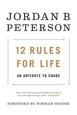 12 Rules for Life: by Jordan B. Peterson [Hardcover] FREE SHIPPING [NO TAX] NEW