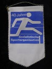 GDR Pennant 40 Years Socialist S Rganisation 1989 Ribnitz-Damgarten