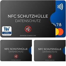 🔒NFC Schutzhülle (3 Stück) aus Kunststoff für Kreditkarte, Bankkarte