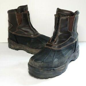 Totes Front Zip Men's Boots Size 11