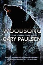 Woodsong by Gary Paulsen (2007, Paperback) Iditarod, wilderness survival NEW
