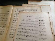 Eugène Cools Six morceaux pour violon, violoncelle et piano score partition
