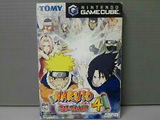 FREE SHIP USED Naruto Gekitou Ninja Taisen 4 GC GameCube japan