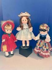 "Vintage Effanbee Set of 3 Hattie Holiday 18"" Suzie Sunshine Dolls, 1980 Ex/Mint"