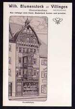 81035 AK Villingen Uhrenversandhaus Wilh. Blumenstock