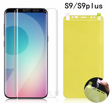 Front & Back Full 360° TPU protector Guard film Samsung Galaxy S9 Plus