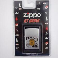 Zippo At Work Series Police Lighter USA New Sealed
