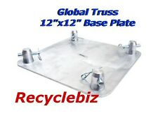 """Global Truss Base Plate Square Truss SQ 4137 12"""" Square Brand New!"""
