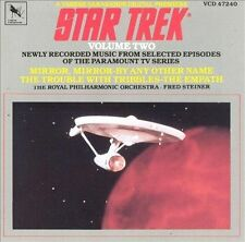 Star Trek : Tv Soundtrack No. 2 Television Soundtrack 1 Disc Cd