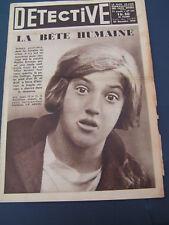 Détective 1934 321 obseques a regret ROUEN