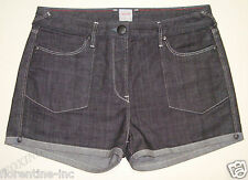"GORGEOUS SASS&BIDE HIGH WAISTED BLACK DENIM SHORTS 31 ""HULSEY PARKS"""