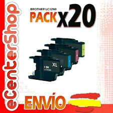 20 Cartuchos LC1240 NON-OEM Brother MFC-J5910DW / MFCJ5910DW 24H