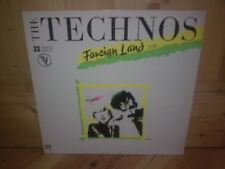 """THE TECHNOS foreign land 12"""" MAXI 45T"""