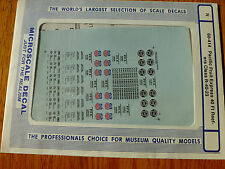 Microscale Decal N  #60-414 Pacific Fruit Express 40' Refrigerator Cars -Ice-(19