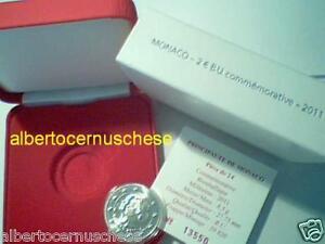 MONACO 2 euro 2011 BU matrimonio mariage ALBERTO II CHARLENE albert Монако 摩纳哥