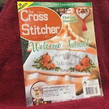 The Cross Stitcher Magazine Back Issue October 2001 Stitching Craft Used