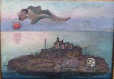 Oil Painting by David Burliuk (1882 - 1967) with COA for Catalogue Raissone