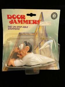 Novelty 1991 Mad Scientist Door Jammers Door Stop Floor Mount New in Package