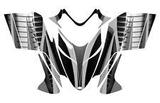 POLARIS SHIFT RMK DRAGON wrap graphics sled deco kit NO1900 Metal